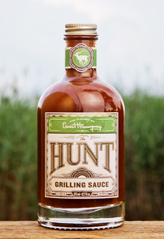Ernest Hemingway Grilling Sauce the Hunt