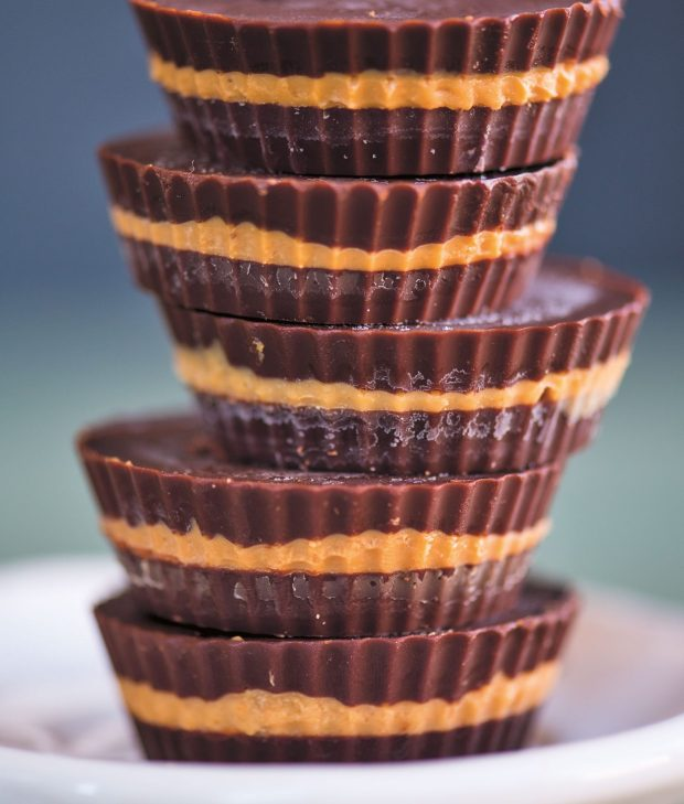 Salted Dark Chocolate Nut Butter Cups