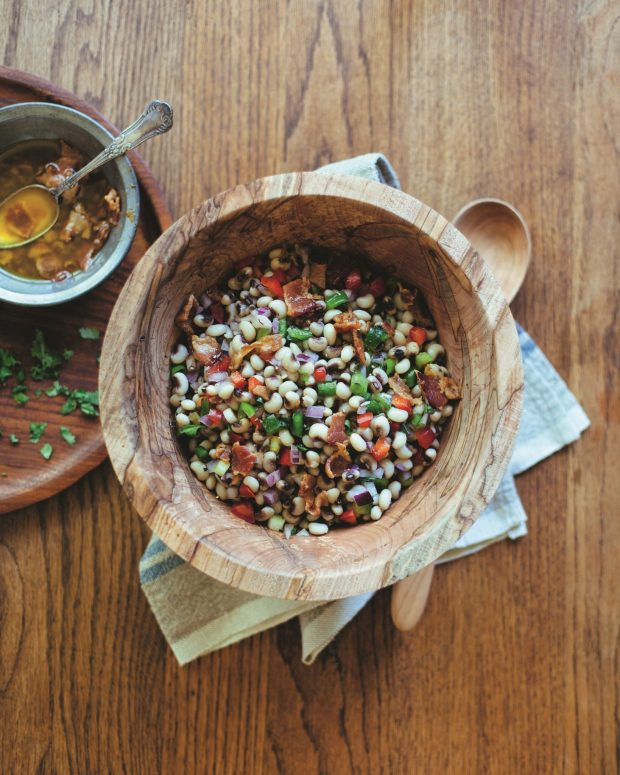 Black-eye pea salad