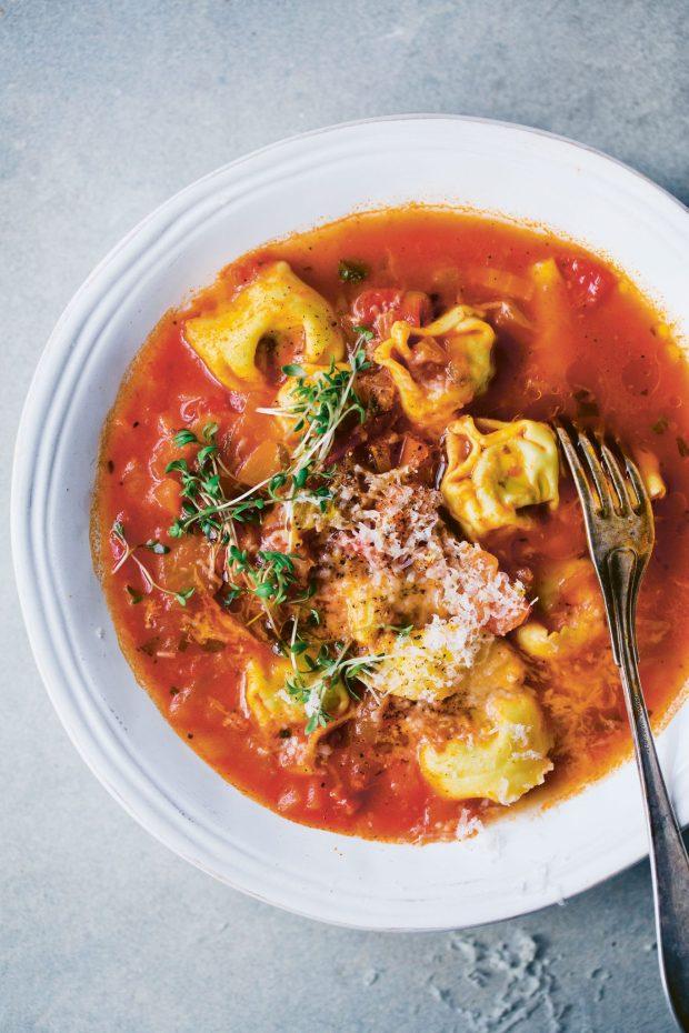 Tortellini Drop Soup