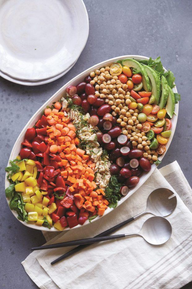 The Real DIsh Row Salad