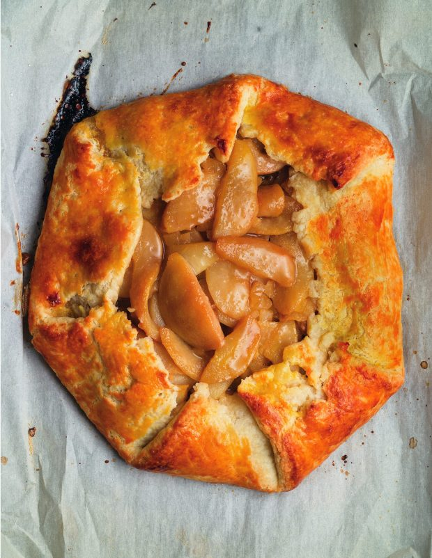 Pear and Ginger Galette