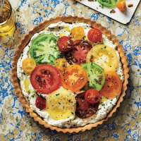 Heritage Tomato Tart
