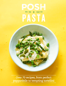 Posh Pasta by Pip Spence.
