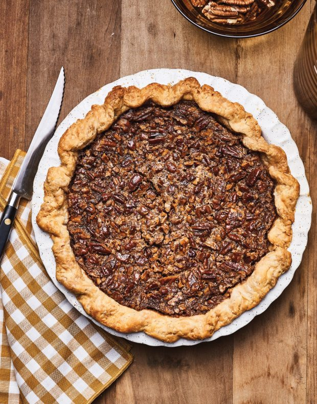 Louisiana Browned Butter–Pecan Pie