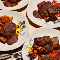 Sticky Beef Short Rib With Chilli