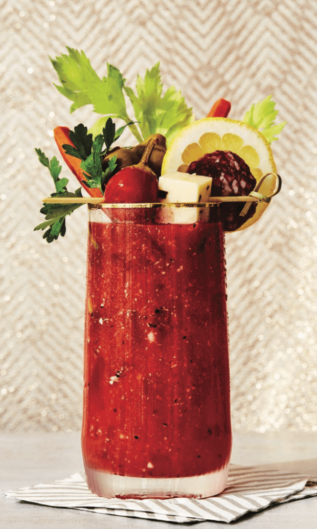 New Year's Day Bloody Mary Bar