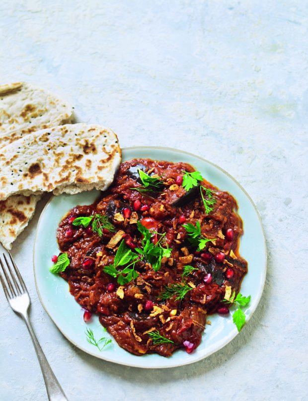Persian Aubergine Stew