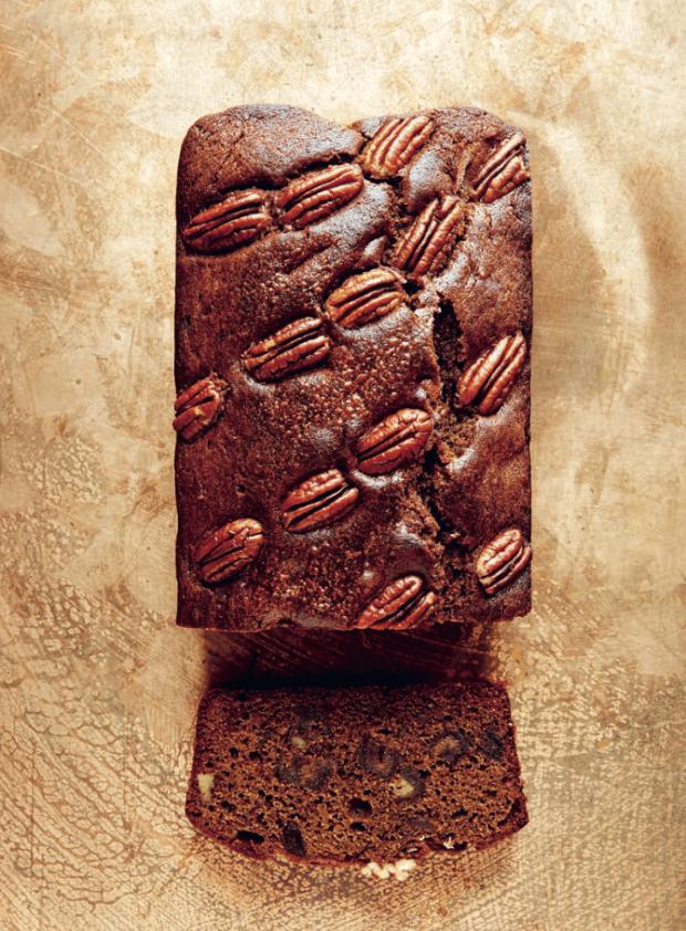 Coffee, Date & Pecan Cake