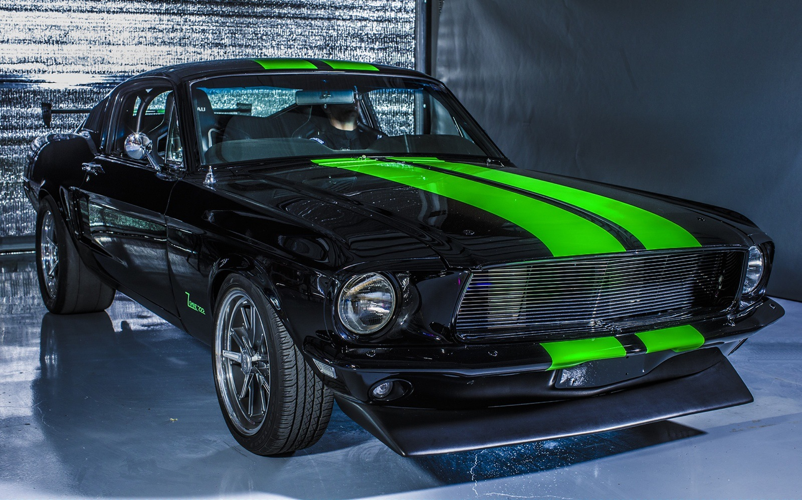 Vintage Electric Mustang bleeds torque and hits 174 mph  Coolfords