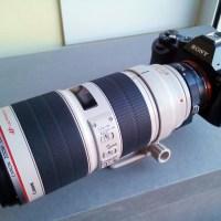 Adaptadores con AF: Canon EF a Sony Nex
