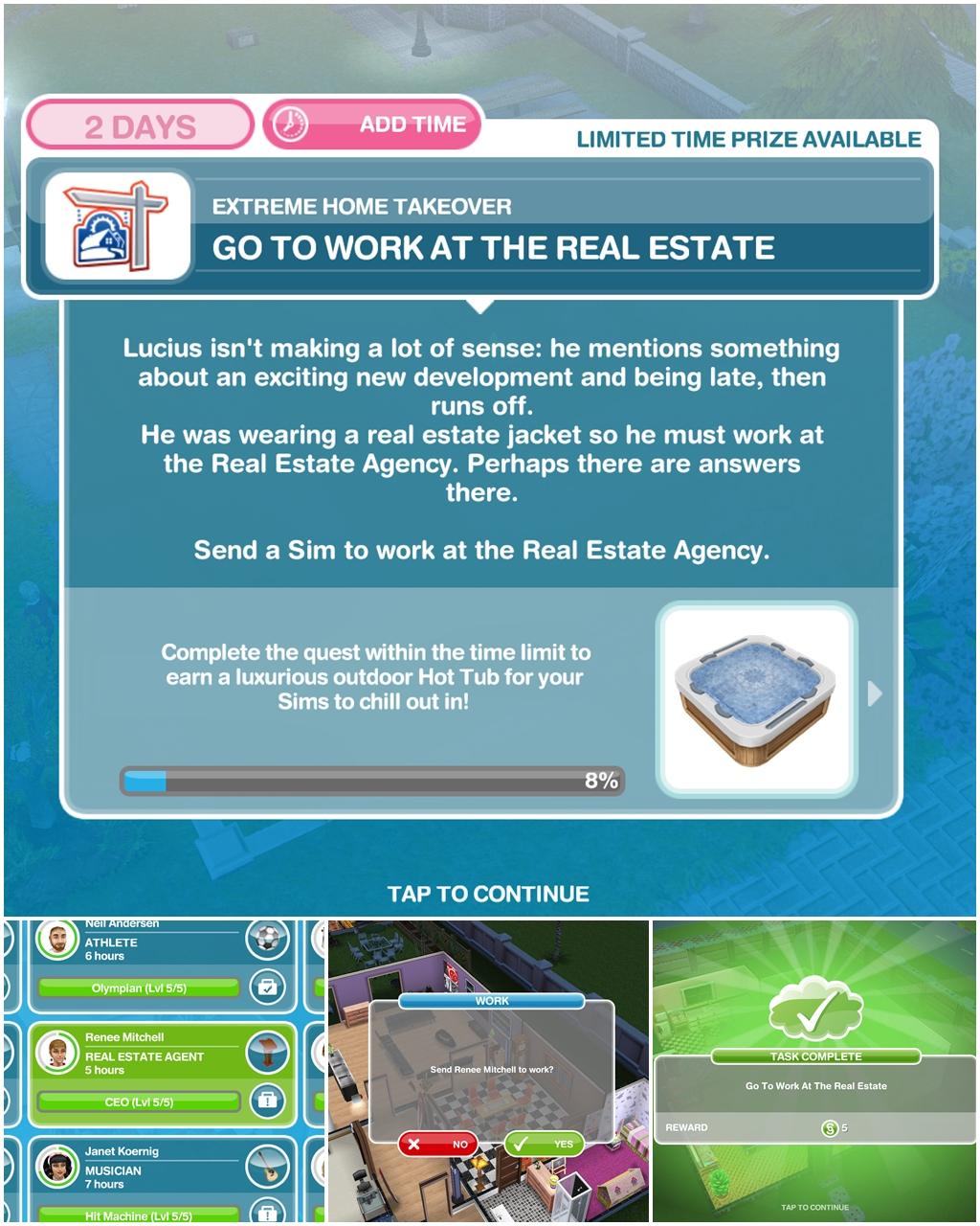 Check The Mail Sims Freeplay : check, freeplay, Extreme, Takeover, Discovery, Quest, Wanna
