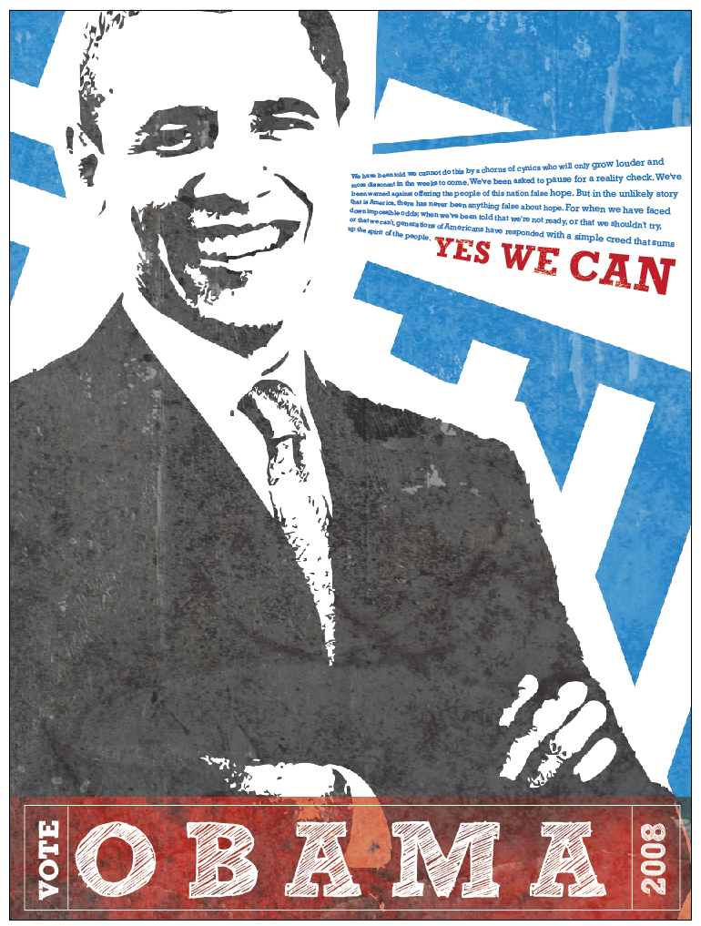 my political poster design