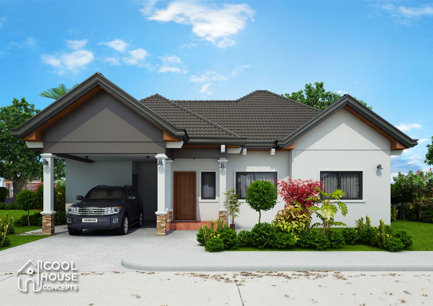 Three Bedroom Cool House Concept Cool House Concepts