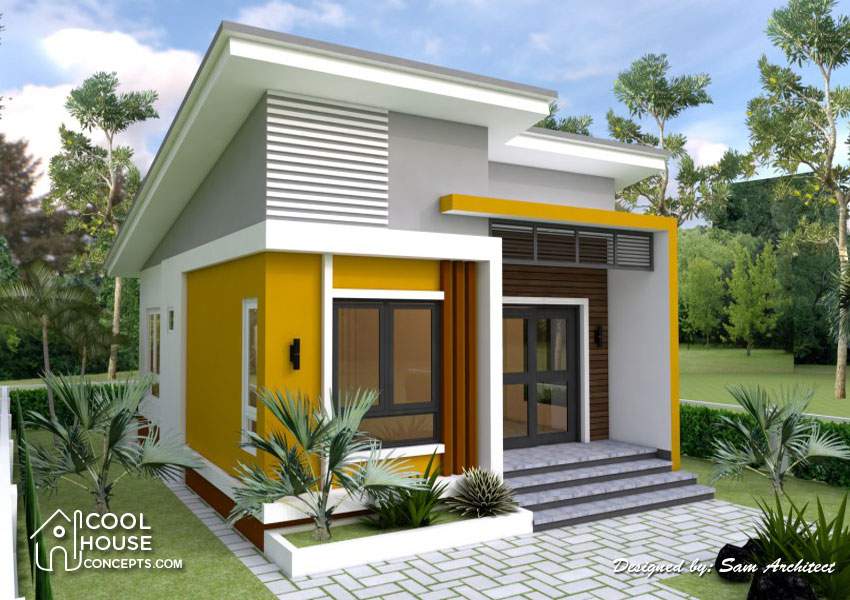 Small House Design With 2 Bedrooms Cool House Concepts
