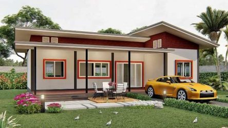 Cute and affordable single story house Cool House Concepts