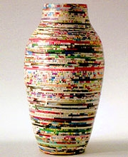 Paper Vase 33002 Bg