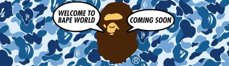 Bapeworld Comingsoon