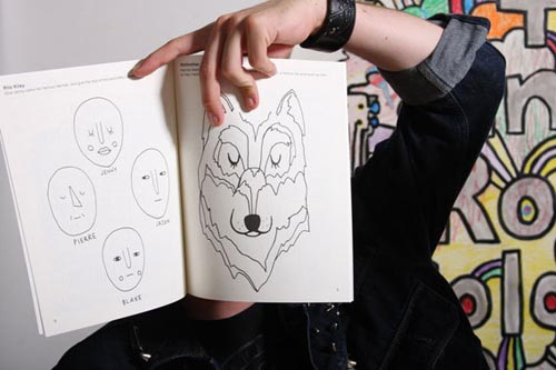 The Indie Rock Coloring Book - COOL HUNTING