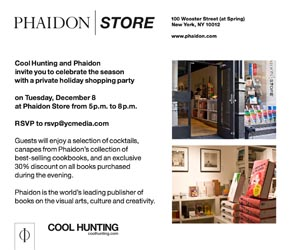 Cool Hunting x Phaidon Holiday Shopping Party - COOL HUNTING
