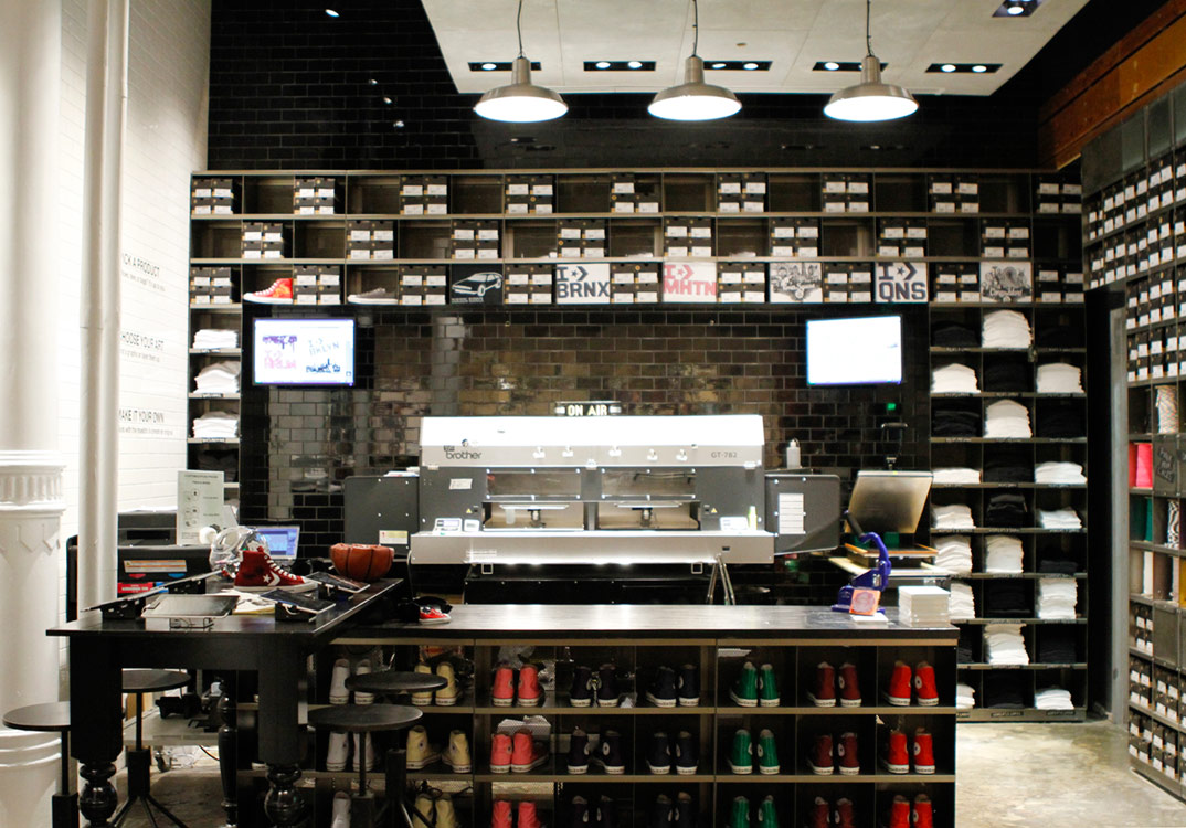 Converse's NYC SoHo Store – COOL HUNTING®