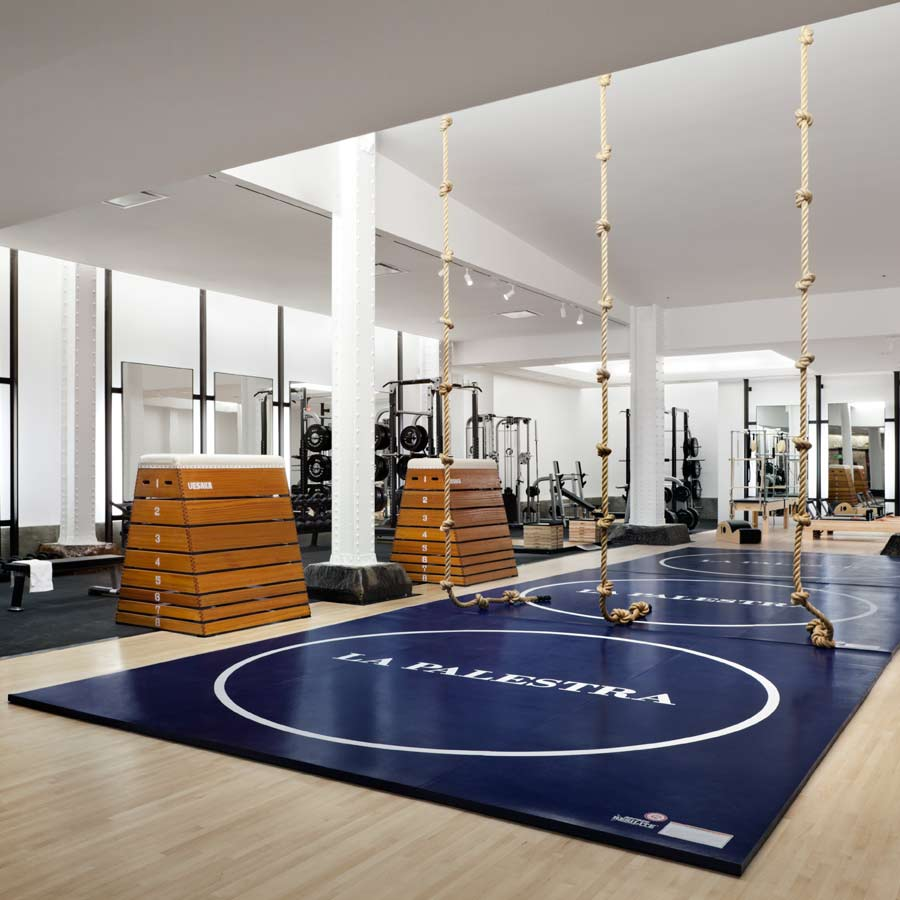 Gym Interior Fitness Design And: COOL HUNTING