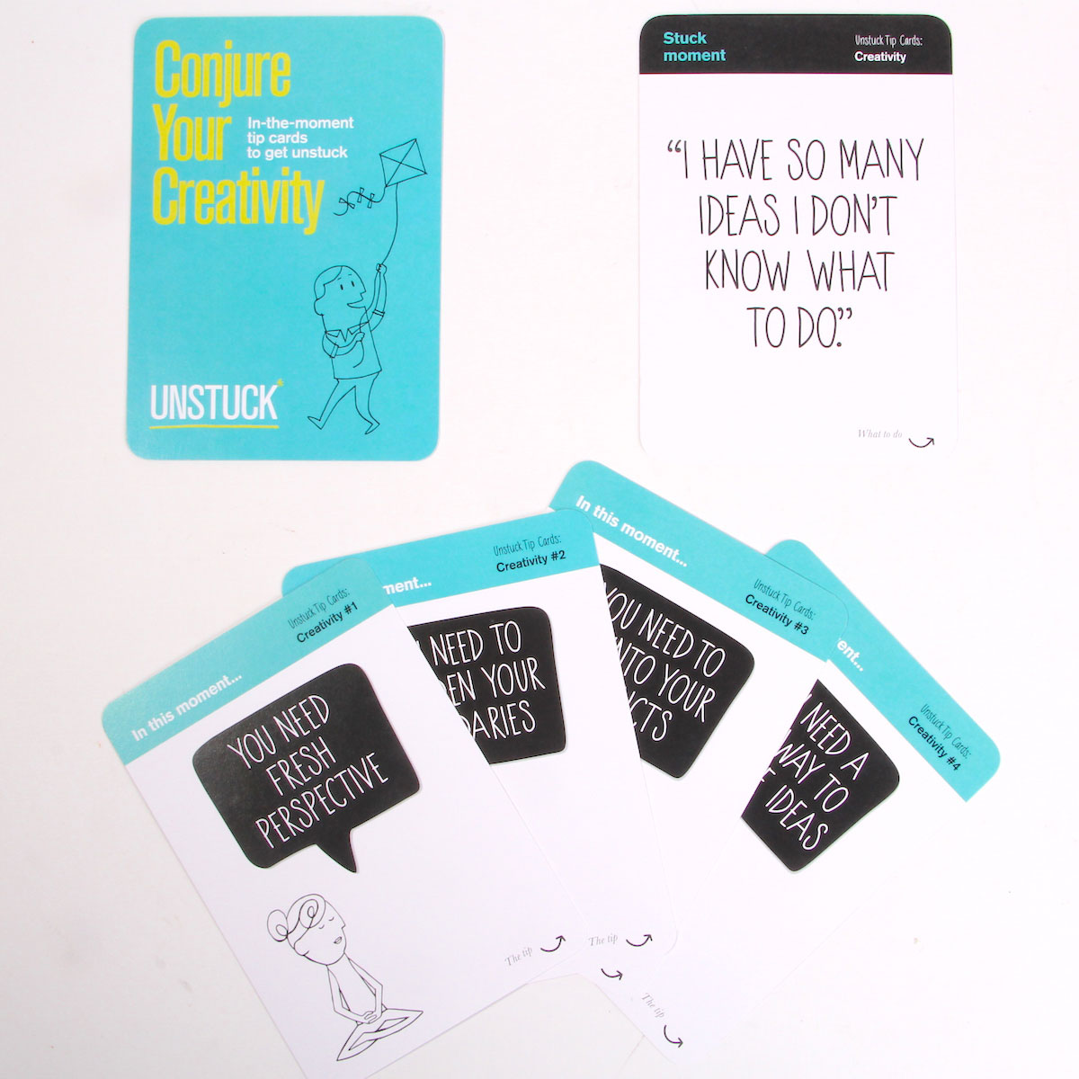 Unstuck Tip Cards Cool Hunting