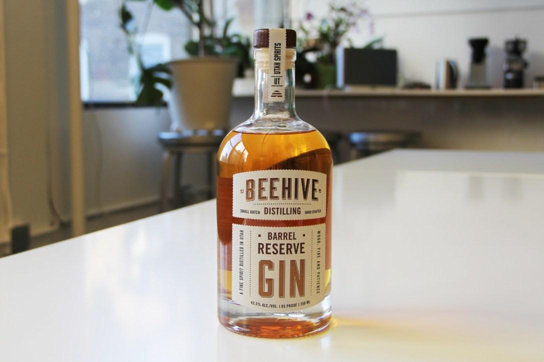 Utah's French Oak Aged Beehive Gin