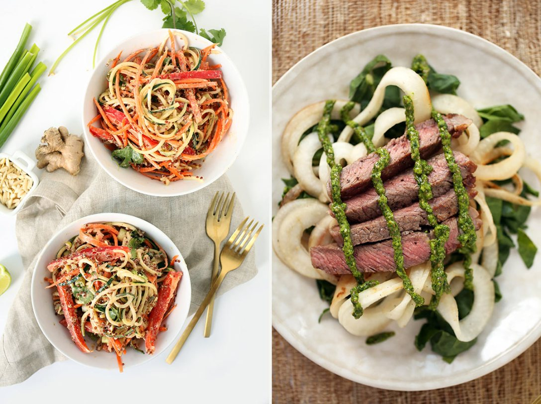 Turning Vegetables into Noodles and More with Inspiralizer