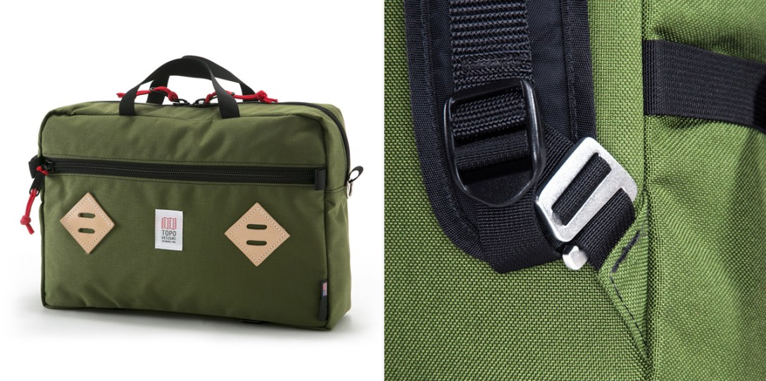 COOL HUNTING The Topo Designs Mountain Briefcase