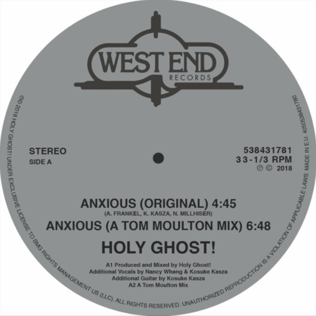 Holy Ghost!: Anxious