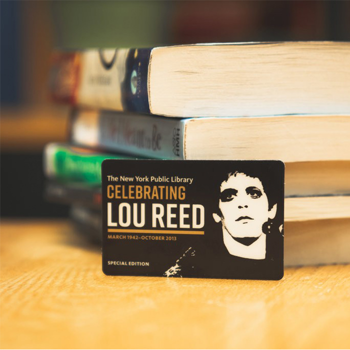 New York Public Library's Lou Reed Archive