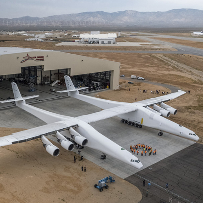 World's Largest Airplane's First-Ever Flight