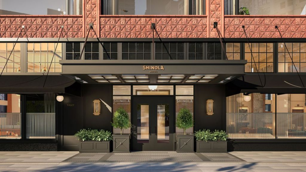 Detroit's New Shinola Hotel