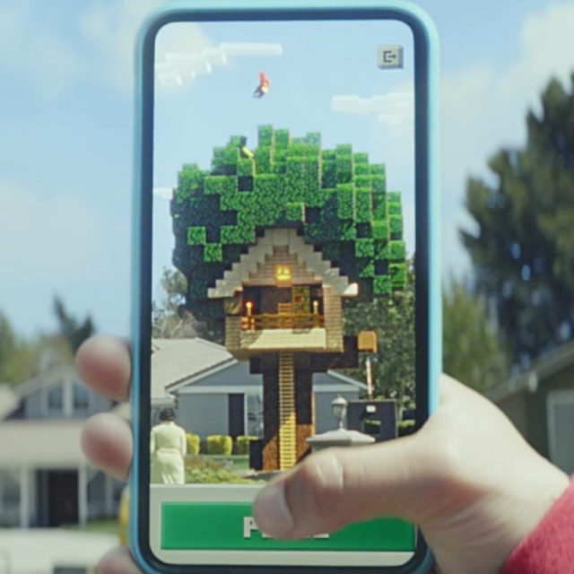 Microsoft Launches Closed Beta of Augmented Reality Minecraft Earth