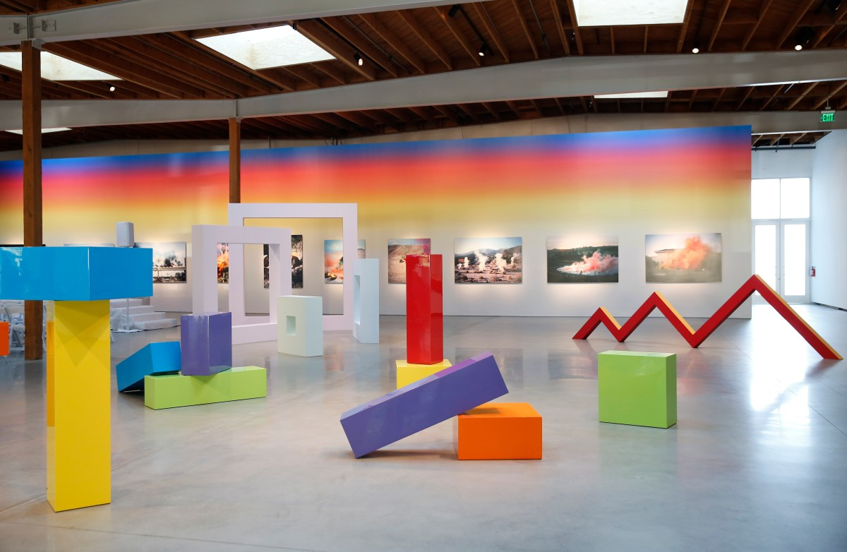 """Judy Chicago: Los Angeles"" at Jeffery Deitch"