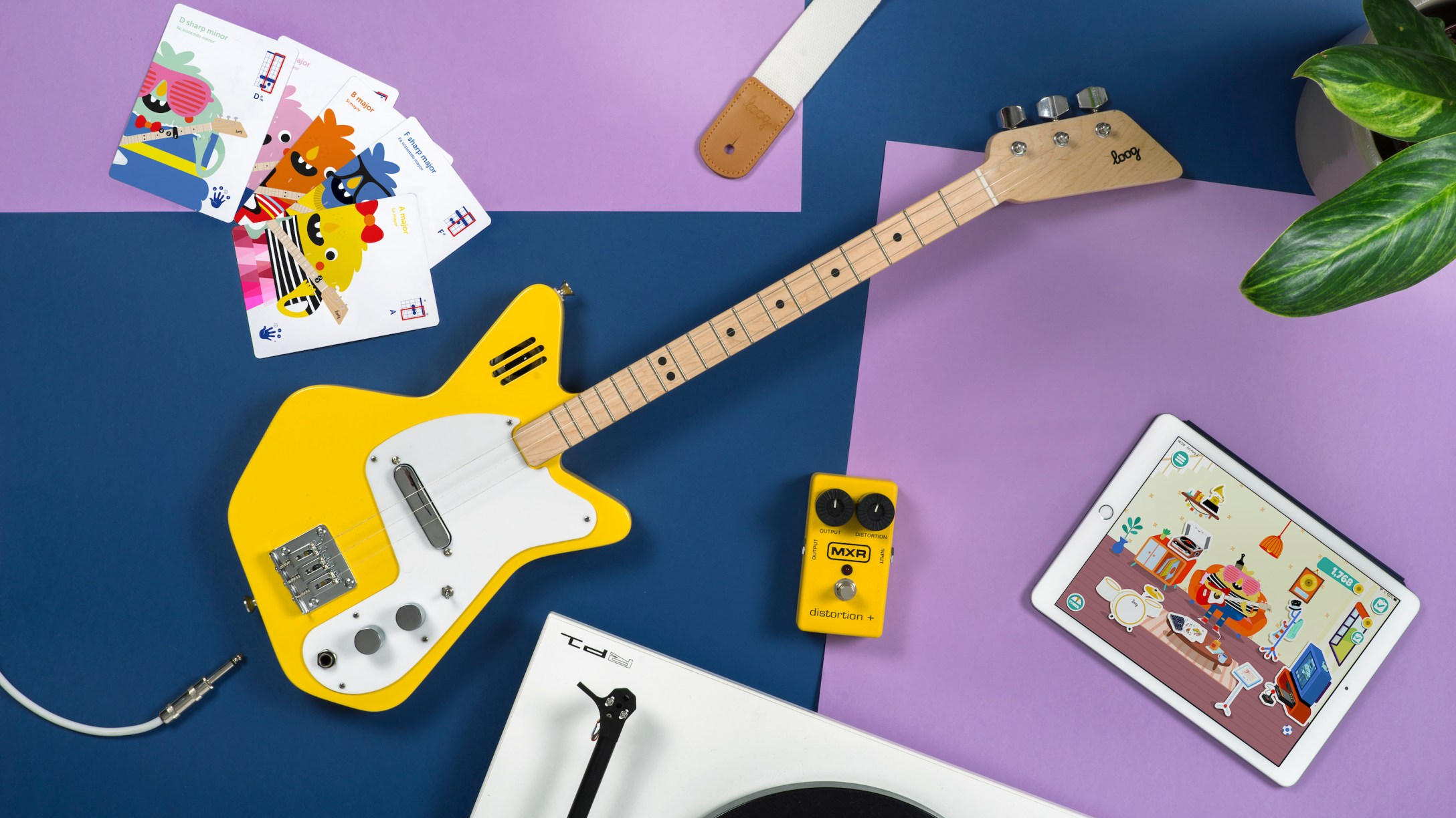 Loog Guitars' Electric Instruments For All Ages