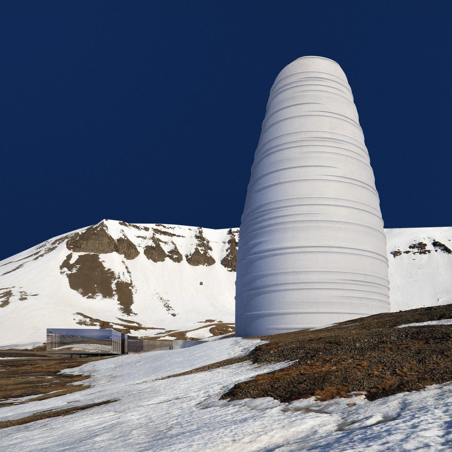 Svalbard S Doomsday Seed Vault To Get A Snohetta Designed