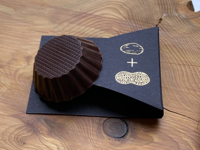 Dandelion Chocolate's Two-Ingredient Peanut Butter Cup