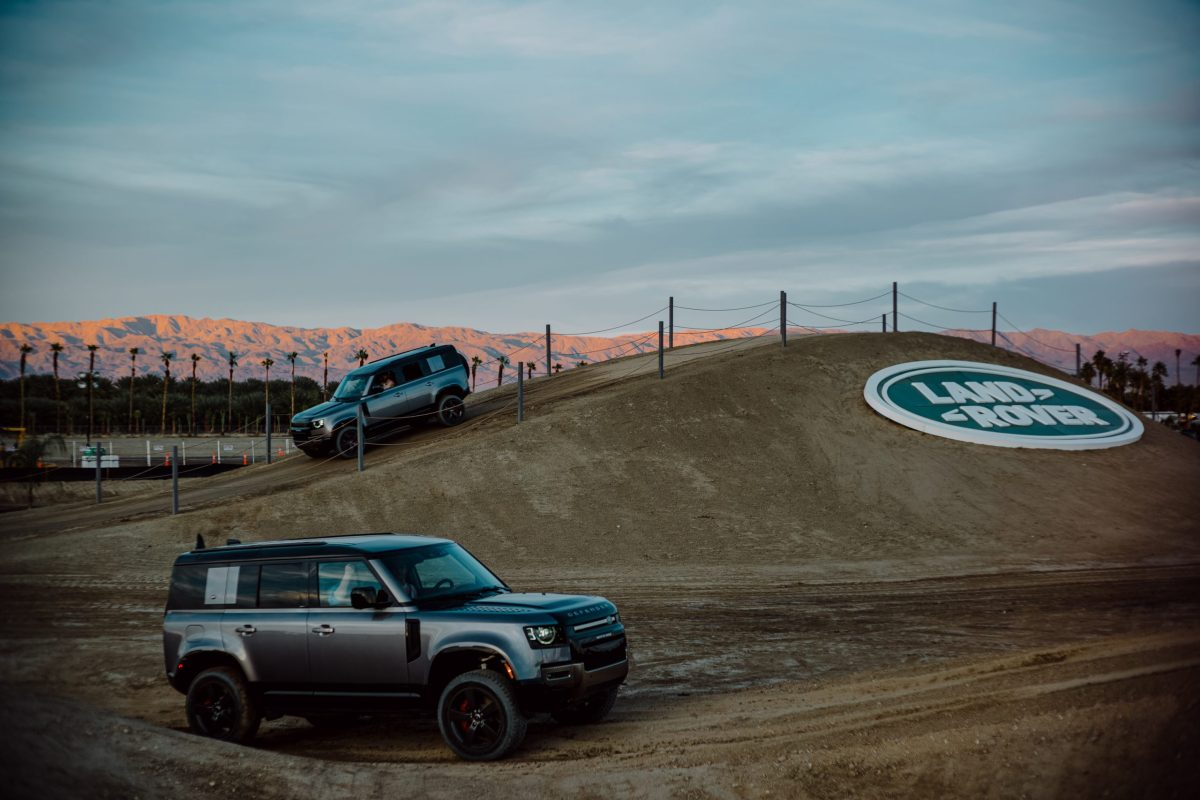 Land Rover's 4xFAR Festival Introduces Audiences to the 2020 Defender
