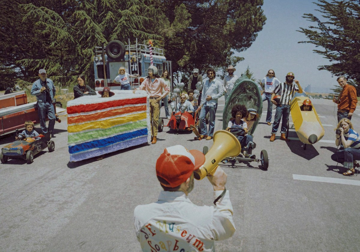 Levi's Vintage Clothing Recreates a 1975 Soapbox Derby