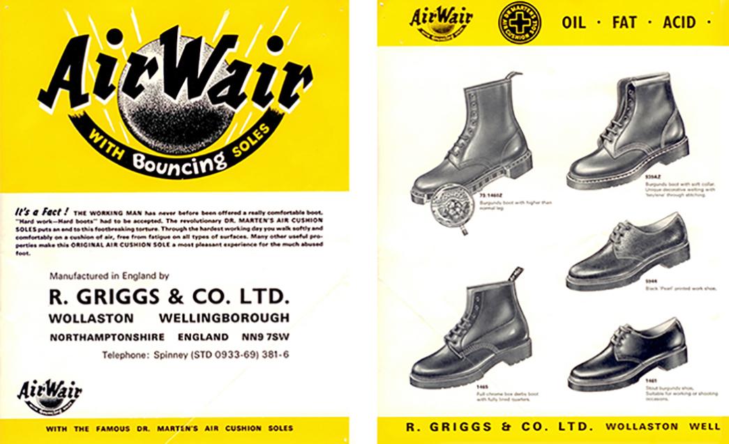 dr martens the original air cushion sole