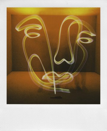 Light Painting Mode, courtesy of Polaroid