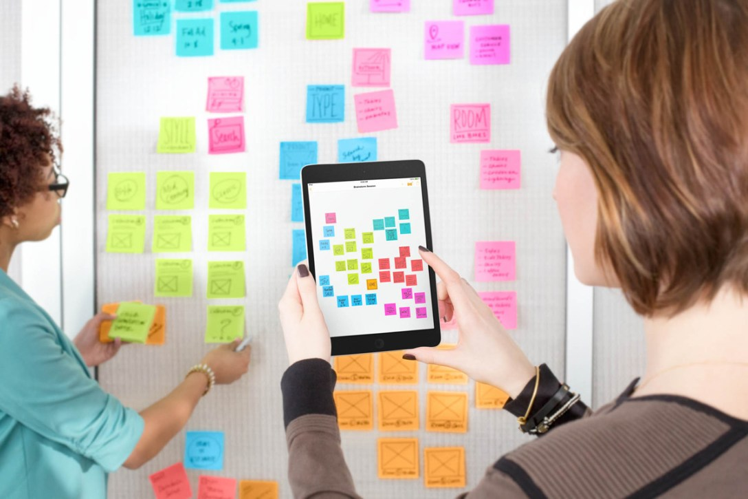 Organizing With the Post-it Plus App