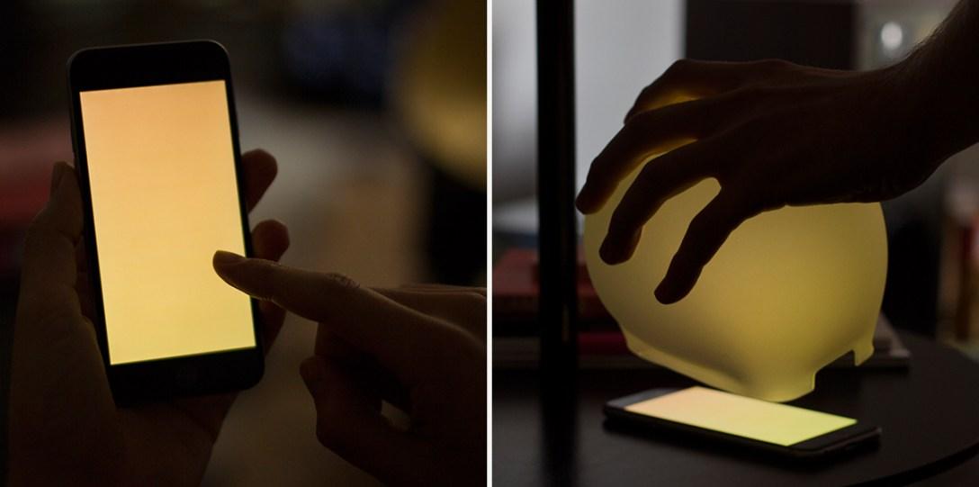 Smartphone-Powered Portable Mood Lighting with Lampp