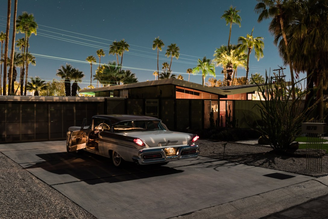 "Tom Blachford's New ""Midnight Modern"" Photos"