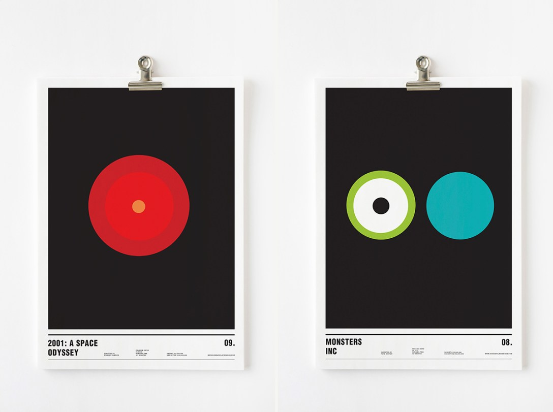 Nick Barclay's Abstract Movie Posters