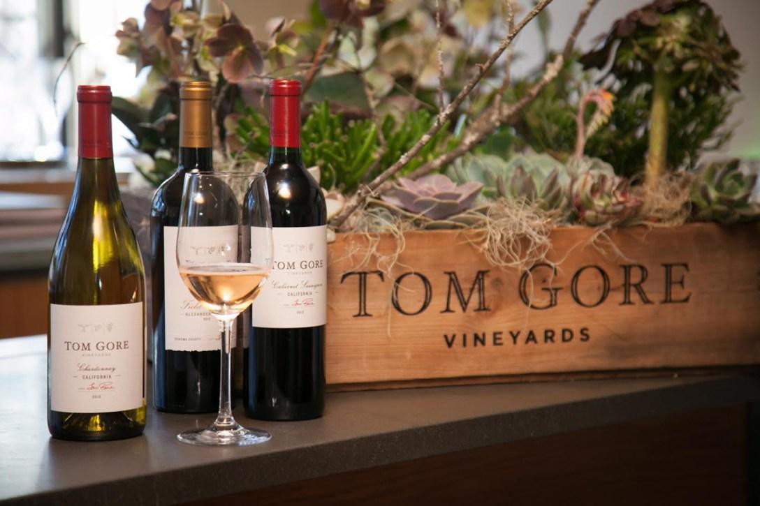 Three Signature Wines from Tom Gore Vineyards