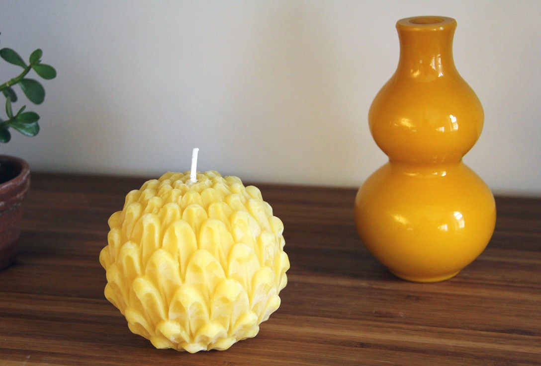 Six Oddly Shaped Candles