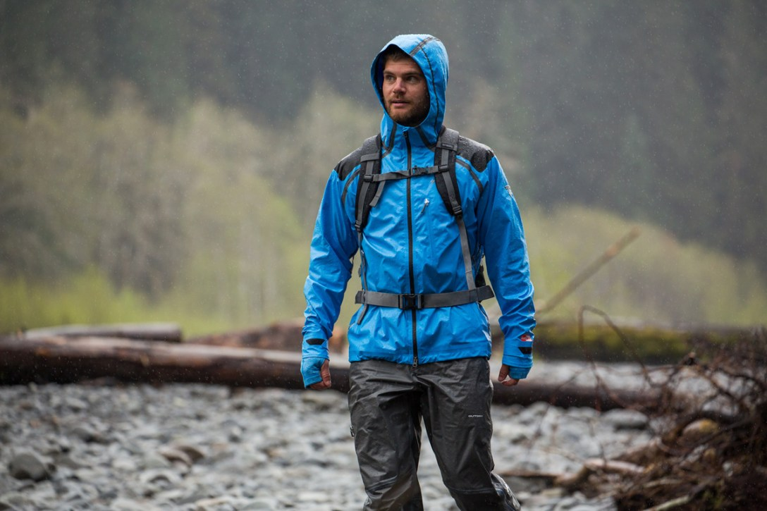 Columbia Sportswear Reinvents Raincoat Technology